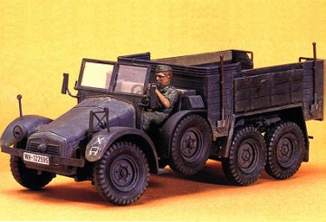 Krupp Protze 6x4 · TA 35104 ·  Tamiya · 1:35
