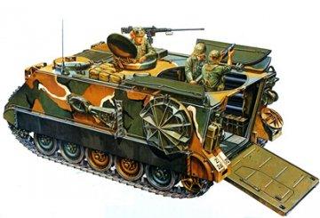US M106A1 Armored S.P. Mortar · TA 35116 ·  Tamiya · 1:35