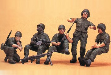 US Armored Troops · TA 35117 ·  Tamiya · 1:35