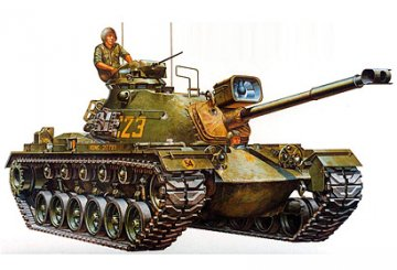 US M48A3 Patton Tank · TA 35120 ·  Tamiya · 1:35