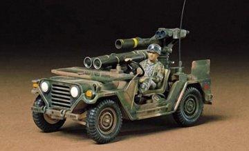 US M151A2 Ford MUTT m.TOW-Rak.(1) · TA 35125 ·  Tamiya · 1:35
