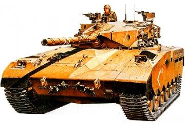 Israeli Tank Merkava MBT · TA 35127 ·  Tamiya · 1:35