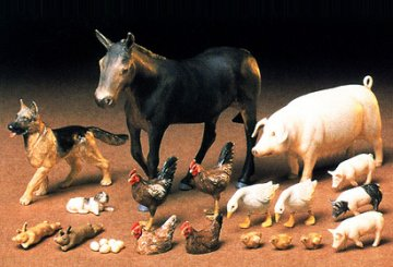 Livestock Set · TA 35128 ·  Tamiya · 1:35