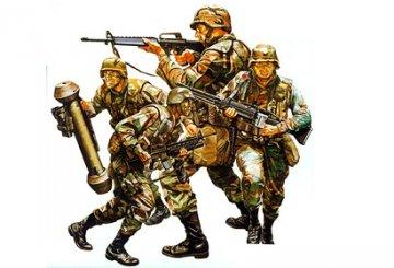 US Modern Army Infantry Set · TA 35133 ·  Tamiya · 1:35
