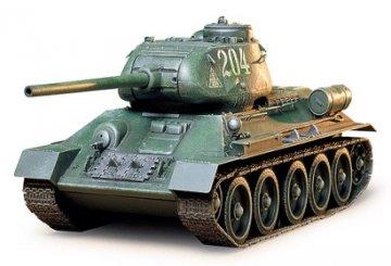 Russischer mittlerer Kampfpanzer T34/85 · TA 35138 ·  Tamiya · 1:35