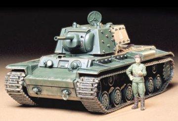Russian Tank KV-1B-1940 · TA 35142 ·  Tamiya · 1:35