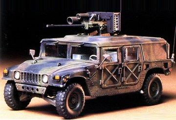 US Hummvee m. BK Bushmaster · TA 35143 ·  Tamiya · 1:35