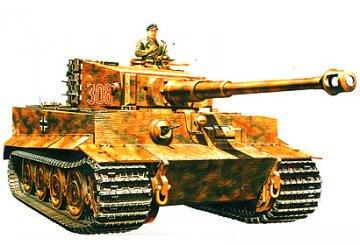 WWII SdKfz.181 PzKpfw.VI Tiger I E · TA 35146 ·  Tamiya · 1:35