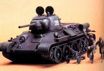 WWII Rus. KPz. T34/76 ChTZ V.43 · TA 35149 ·  Tamiya · 1:35