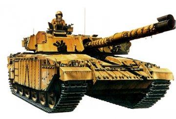 Brit. KPz Challenger 1 Mk.III · TA 35154 ·  Tamiya · 1:35