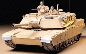US Abrams M1A1 120 mm · TA 35156 ·  Tamiya · 1:35