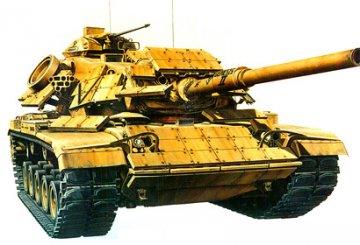 US Marine M60A1 with Reactive Armor · TA 35157 ·  Tamiya · 1:35