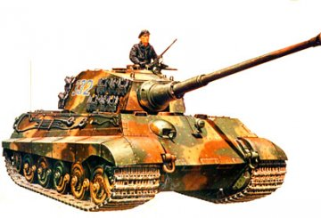 Sd.Kfz.182 Panzer VI Königstiger, Production Turret · TA 35164 ·  Tamiya · 1:35