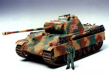 German Panther Type G, Early Version · TA 35170 ·  Tamiya · 1:35