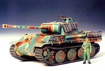 Panther Typ G mit Stahllaufrollen · TA 35174 ·  Tamiya · 1:35