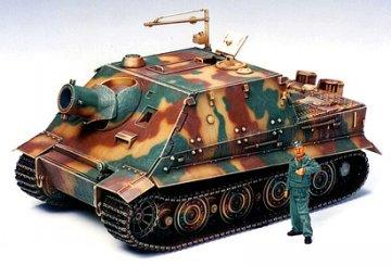 German 38 cm Assault Mortar Sturmtiger · TA 35177 ·  Tamiya · 1:35