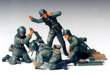 German Mortar Team · TA 35193 ·  Tamiya · 1:35