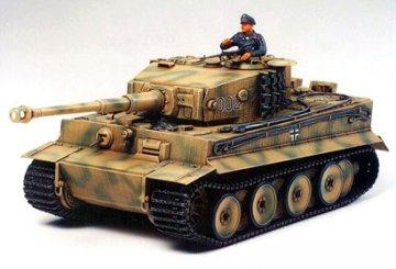 German Tiger I Tank, Mid Production · TA 35194 ·  Tamiya · 1:35