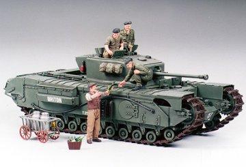 British Infantry Tank Mk IV Churchill Mk.VII · TA 35210 ·  Tamiya · 1:35