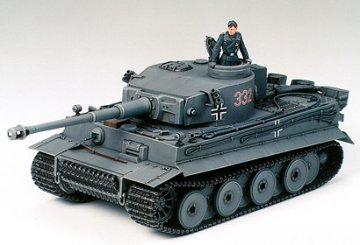 German Tiger I, Early Production · TA 35216 ·  Tamiya · 1:35