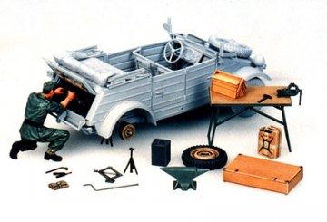 Diorama-Set Wartungsset Kübelwagen · TA 35220 ·  Tamiya · 1:35