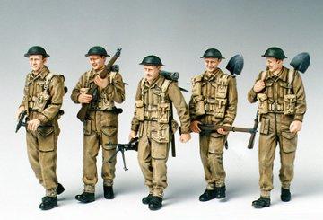 British Infantry on Patrol · TA 35223 ·  Tamiya · 1:35