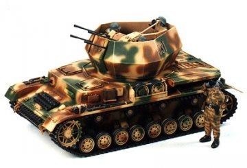 German Flakpanzer IV Wirbelwind · TA 35233 ·  Tamiya · 1:35