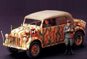 German Steyr Typ1 1500A Kommandeurwagen · TA 35235 ·  Tamiya · 1:35