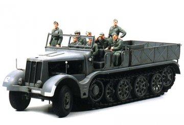 WWII SdKfz.9 Famo 18to Halbkette · TA 35239 ·  Tamiya · 1:35