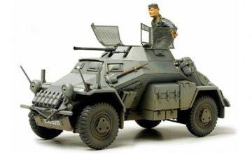 German Armored Car Sd.Kfz 222 mit Fotoätzteilen · TA 35270 ·  Tamiya · 1:35