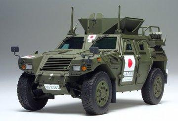 JGSDF Light Armored Vehicle, Iraq Humanitarian Assistance Unit · TA 35275 ·  Tamiya · 1:35