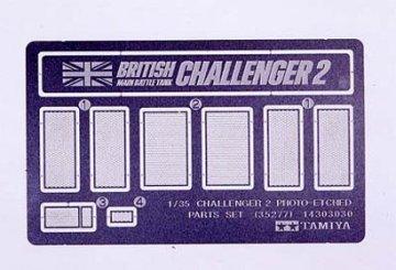 Photoätzteile Brit.KPz Challenger · TA 35277 ·  Tamiya · 1:35
