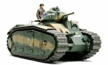 French Battle Tank B1 bis · TA 35282 ·  Tamiya · 1:35