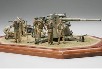 WWII Dt. 88mm Flak36 Nord Afrika · TA 35283 ·  Tamiya · 1:35