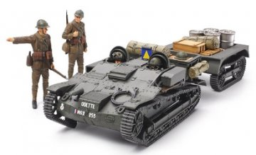 French Armored Carrier UE · TA 35284 ·  Tamiya · 1:35