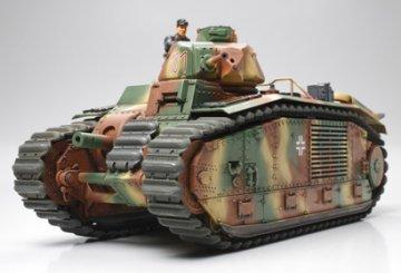 WWII Dt. PzKmpfw. B2 740/B1 BIS · TA 35287 ·  Tamiya · 1:35
