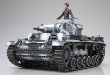 Panzerkampfwagen III Ausf.N (Sd.Kfz. 141/2) · TA 35290 ·  Tamiya · 1:35