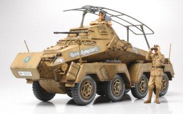 Sd.Kfz.232 Schwerer Panzerspähwagen 8-Rad `Afrika-Korps` · TA 35297 ·  Tamiya · 1:35