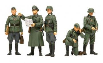WWII Fig-Set Deutsche Oberbefehlshaber · TA 35298 ·  Tamiya · 1:35
