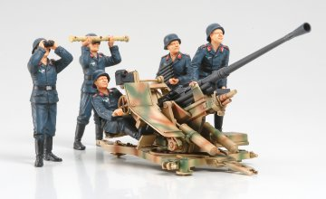 WWII Dt.3,7cm Flak37 m. Trupp · TA 35302 ·  Tamiya · 1:35