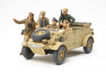 WWII Dt. Kübelwagen T82 Ramcke · TA 35304 ·  Tamiya · 1:35