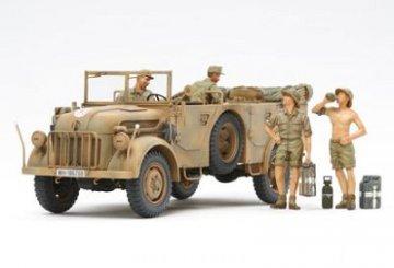 WWII Dt. Steyr 1500A/01 Afrika · TA 35305 ·  Tamiya · 1:35