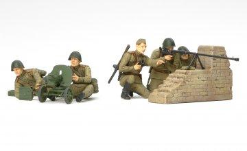 WWII Fig-Set Rus. Panzerjäger · TA 35306 ·  Tamiya · 1:35