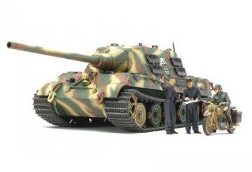 Jagdtiger Mit.Prod.Carius m.Figur · TA 35307 ·  Tamiya · 1:35