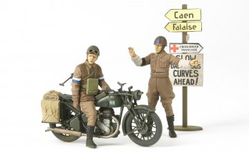 WWII Brit.BSA M20 Krad./Mi.Polizei · TA 35316 ·  Tamiya · 1:35