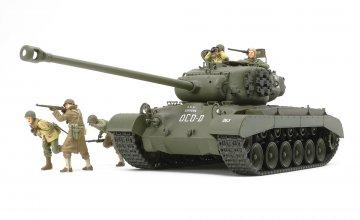 US Panzer T26E4 Super Pershing · TA 35319 ·  Tamiya · 1:35