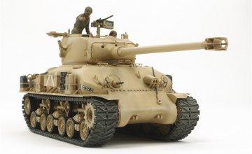 Israel. Panzer M51 Super 105mm · TA 35323 ·  Tamiya · 1:35