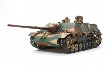 WWII Dt. Jagdpanzer IV/70 (V) Lang · TA 35340 ·  Tamiya · 1:35