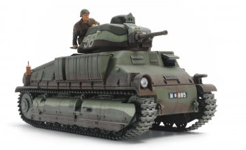 Franz. SOMUA S35 Mittl. Panzer · TA 35344 ·  Tamiya · 1:35