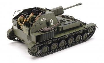 Sov. SU-76M Panzerhaubitze · TA 35348 ·  Tamiya · 1:35